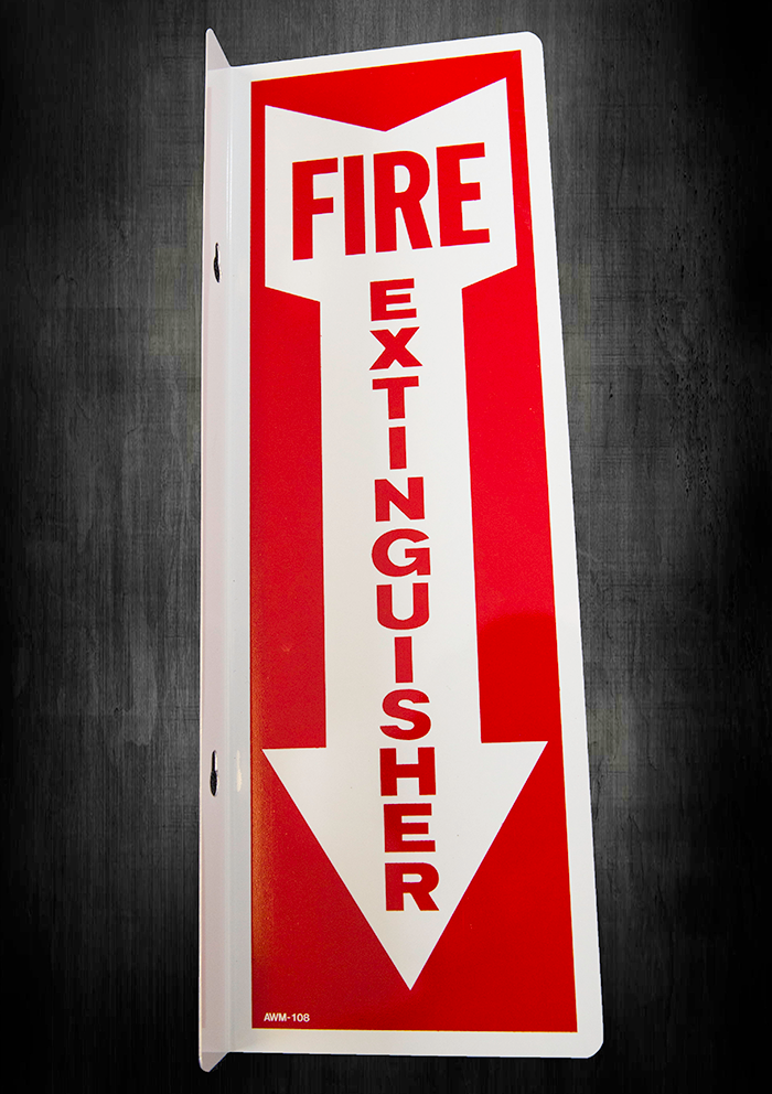 90-degree-fire-extinguisher-sign-aluminum